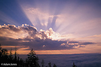 Sunrise, Clngmans Dome, Great Smoky Mountains National Park, Tennessee