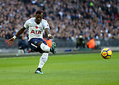5th November 2017, Wembley Stadium, London England; EPL Premier League football, Tottenham Hotspur versus Crystal Palace; Serge Aurier of Tottenham Hotspur in action