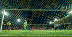 12.02.2020 Kilmarnock v Rangers: Scott Arfield's shot beats Jan Koprivec in goals