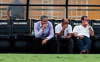 SAO PAULO, SP, 29 DE JANEIRO 2012 - CAMP. PAULISTA - CORINTHIANS X LINENSE -  Tite tecnico  do Corinthians durante lance de partida contra do Linense, válida pela 3ª rodada do Campeonato Paulista, no Estádio Paulo Machado de Carvalho (Pacaembu), em São Paulo, neste domingo (29). (FOTO: VANESSA CARVALHO - NEWS FREE).