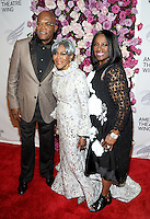 NEW YORK, NY - September26: Samuel L. Jackson, Cicely Tyson and LaTanya Richardson attends American Theater Wing Honoring Cicely Tyson at 2016 Gala at the Plaza Hotel  on September 26, 2016 in New York City .  Photo Credit:John Palmer/MediaPunch