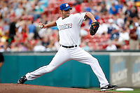 Buffalo Bisons pitcher Brian Sweeney #58 delivers a pitch during a game against the Syracuse Chiefs at Coca-Cola Field on September 1, 2011 in Buffalo, New York.  Syracuse defeated Buffalo 6-2.  (Mike Janes/Four Seam Images)