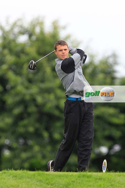 Oisin Devereux (Carton House) on the 6th tee during Round 3 of the Irish Boys Amateur Open Championship at Thurles Golf Club on Thursday 26th June 2014.<br /> Picture:  Thos Caffrey / www.golffile.ie