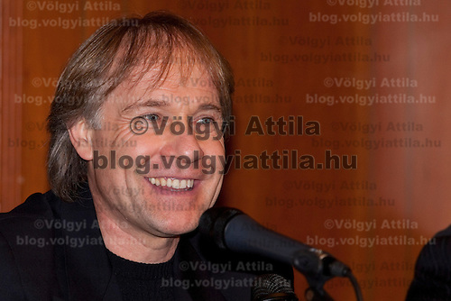 Richard Cleidermann attends a press conference of the 13th Budapest Opera Ball held in Budapest, Hungary on February 01, 2008. ATTILA VOLGYI