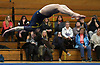 Gillian Murphy of Massapequa performs her floor routine during a Nassau County varsity gymnastics meet against South Side at McKenna Elementary School in Massapequa Park on Monday, Jan. 29, 2018. She scored a 9.0 event and won the all-around with a 35.8 to lead Massapequa to a 167.2-155.45 victory.