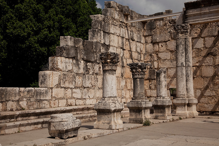 Here Jesus met his first disciples and performed many miracles.  The ruins of the ancient synagogue can still be seen.