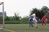Hackentrick-Tor von Lukas Dilling (Büttelborn) wird wegen Abseits nicht gegeben - Büttelborn 27.08.2017: SKV Büttelborn vs. SV Olympia Biebesheim