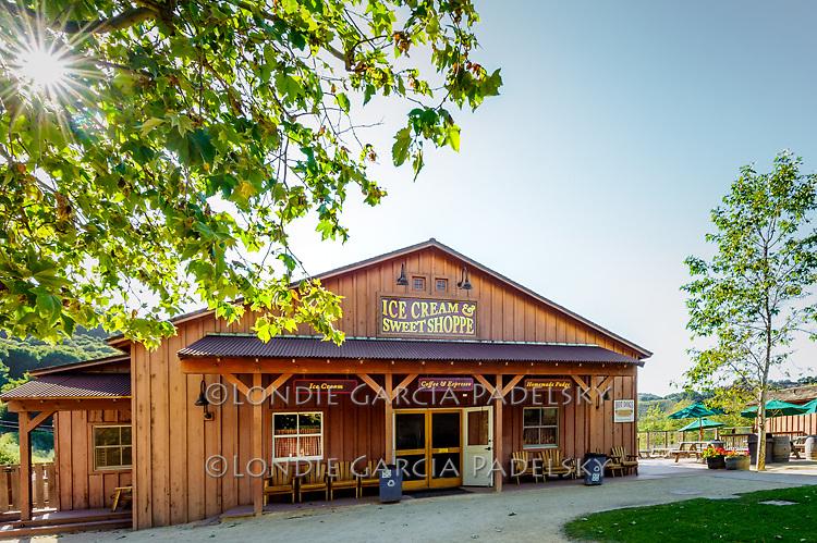 Sweet Shoppe at Avila Valley Barn, farm stand and petting zoo in Avila Valley, San Luis Obispo County, California