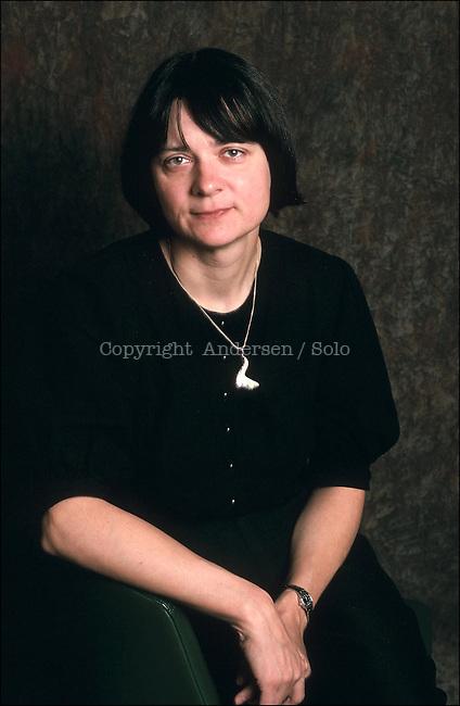 Daniela Hodrova, Czech writer in 1991.