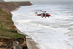 2017-03-17 - Coastguard Helicopter Rescue at Compton