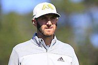 Dustin Johnson (USA) waks off the 6th tee at Pebble Beach Golf Links during Saturday's Round 3 of the 2017 AT&amp;T Pebble Beach Pro-Am held over 3 courses, Pebble Beach, Spyglass Hill and Monterey Penninsula Country Club, Monterey, California, USA. 11th February 2017.<br /> Picture: Eoin Clarke | Golffile<br /> <br /> <br /> All photos usage must carry mandatory copyright credit (&copy; Golffile | Eoin Clarke)