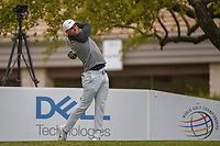 Lucas Bjerregaard (DEN) watches his tee shot on 1 during day 5 of the WGC Dell Match Play, at the Austin Country Club, Austin, Texas, USA. 3/31/2019.<br /> Picture: Golffile | Ken Murray<br /> <br /> <br /> All photo usage must carry mandatory copyright credit (&copy; Golffile | Ken Murray)