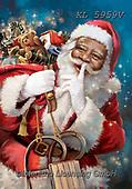 CHRISTMAS SANTA, SNOWMAN, WEIHNACHTSMÄNNER, SCHNEEMÄNNER, PAPÁ NOEL, MUÑECOS DE NIEVE, paintings+++++,KL5959V,#x#