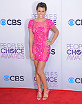 Lea Michele at The 2013 People's Choice Awards held at Nokia Live in Los Angeles, California on January 29,2009                                                                   Copyright 2013 Hollywood Press Agency