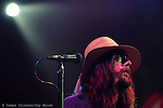 Singer Chris Robinson took front stage during the Black Crowes concert at the Ford Amphitheater.