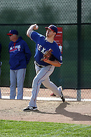 Jake Lemoine - Texas Rangers 2016 spring training (Bill Mitchell)