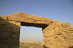 Israel, Arava, ruins of Moa, a Nabatean site on the Spice Route, built in the 1st century, a world Heritage Site