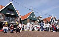 Nederland - Volendam - 2018.   Evenement in Volendam . Drukte op de Dijk.  Foto Berlinda van Dam / Hollandse Hoogte