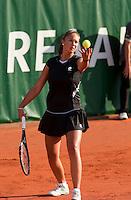 13-8-09, Den Bosch,Nationale Tennis Kampioenschappen, Kwartfinale,  Lesley Kerkhove