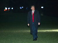United States President Donald J. Trump returns to the White House in Washington, DC, after attending a political rally in Moon Township, Pennsylvania, March 10, 2018.<br /> CAP/MPI/RS<br /> &copy;RS/MPI/Capital Pictures