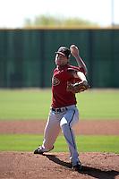 Taylor Clarke - Arizona Diamondbacks 2016 spring training (Bill Mitchell)