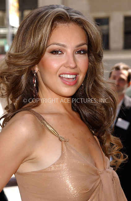 WWW.ACEPIXS.COM . . . . . ....NEW YORK, MAY 17, 2005....Thalia at a press conference announcing Jada as the new face of 'Carol's Daughter' in it's new advertising campaign.....Please byline: KRISTIN CALLAHAN - ACE PICTURES.. . . . . . ..Ace Pictures, Inc:  ..Craig Ashby (212) 243-8787..e-mail: picturedesk@acepixs.com..web: http://www.acepixs.com