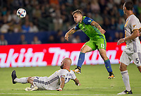 Carson, CA - Saturday July 29, 2017: Jordan Morris during a Major League Soccer (MLS) game between the Los Angeles Galaxy and the Seattle Sounders FC at StubHub Center.