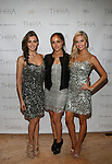 Miss USA Erin Bradley, Miss Universe Olivia Culpo and Miss Teen USA Cassidy Wolf Attend Theia Spring 2014 Presentation Held at the New York Palace, NY