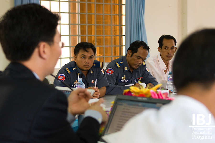 Roundtable discussion on implementation of new Criminal Procedure Code. June 6th, 2008; Takeo, Cambodia
