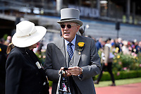Melbourne Cup winner Rekindling (GB) presentations.   Owner Lloyd Williams<br />