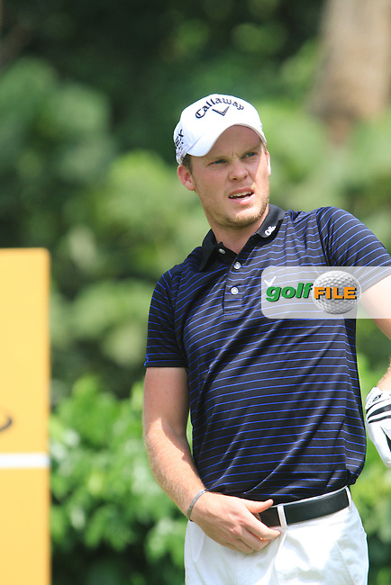 Danny Willett (ENG) on the 5th on the Final Day of the Maybank Malaysian Open 2012 at Kuala Lumpur Golf and Country Club, Kuala Lumpur, Malaysia...(Photo Jenny Matthews/www.golffile.ie)