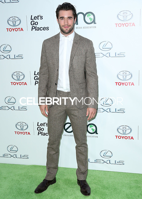 BURBANK, CA, USA - OCTOBER 18: Joshua Bowman arrives at the 2014 Environmental Media Awards held at Warner Bros. Studios on October 18, 2014 in Burbank, California, United States. (Photo by Xavier Collin/Celebrity Monitor)
