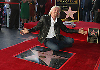 OCT 16 Sir Richard Branson honored on Hollywood Walk of Fame