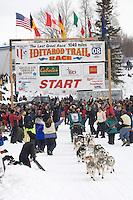 Wayne Curtis Willow restart Iditarod 2008.