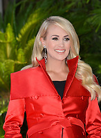 LOS ANGELES, CA. September 20, 2018: Carrie Underwood at the Hollywood Walk of Fame Star Ceremony honoring singer Carrie Underwood.<br /> Pictures: Paul Smith/Featureflash