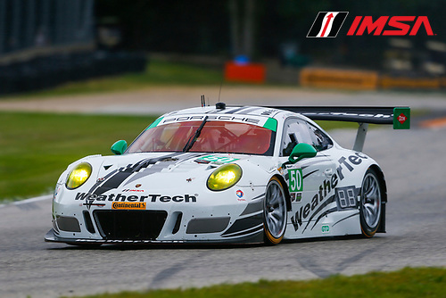 IMSA WeatherTech SportsCar Championship<br /> Continental Tire Road Race Showcase<br /> Road America, Elkhart Lake, WI USA<br /> Friday 4 August 2017<br /> 50, Mercedes, Mercedes AMG GT3, GTD, Gunnar Jeannette, Cooper MacNeil<br /> World Copyright: Jake Galstad<br /> LAT Images