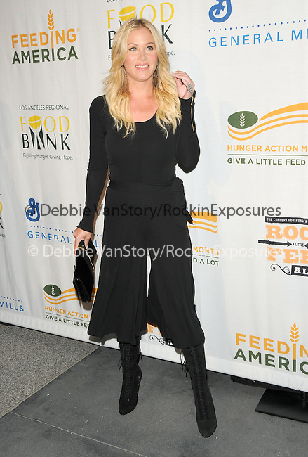 Christina APPLEGATE at The Rock a Little ,Feed a lot benefit concert to support the L.A. Regional Food Bank & Feeding America held at Club Nokia in Los Angeles, California on September 29,2009                                                                   Copyright 2009 DVS / RockinExposures