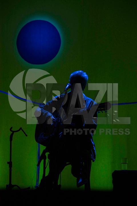 SÃO PAULO, SP, 25.05.2018 - SHOW-SP - Caetano Veloso e Tom Veloso durante apresentação do show Ofertório no Espaço das Américas em São Paulo na noite desta sexta-feira, 25. (Foto: Bruna Grassi/Brazil Photo Press)
