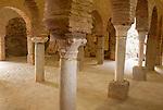 Inside Moorish mosque at Almonaster La Real, Sierra de Aracena, Huelva province, Spain