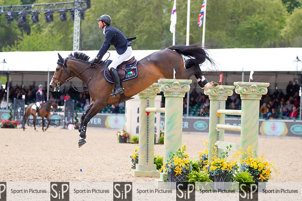 Winner. Ben Maher riding Ginger Blue. GBR. Land Rover Stakes. 1.45m Open. Showjumping. Royal Windsor Horse Show. Windsor.  Berkshire. United Kingdom. GBR. 09/05/2019.