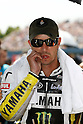 June 26, 2010 - Assen, Holland - Monster Yamaha Tech 3 team's American Colin Edwards is pictured on the grid prior the Dutch Grand prix at Assen, Holland, on June 26, 2010. (photo Andrew Northcott/Nippon News)