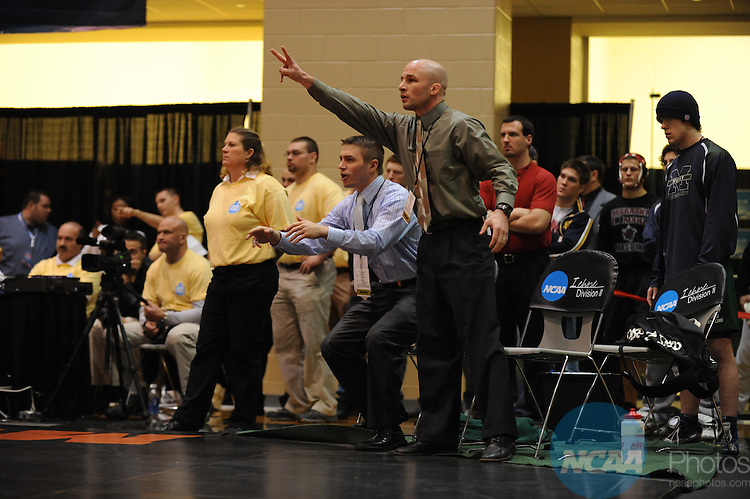 14 MAR 2009:  The Division II Wrestling Championship takes place at the 2009 NCAA Division II Winter Sports Festival held at the University of Houston student recreation center in Houston, TX.  Joshua Duplechian/NCAA Photos