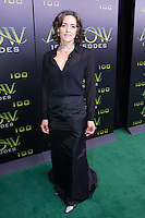 VANCOUVER, BC - OCTOBER 22: Janet Kidder at the 100th episode celebration for tv's Arrow at the Fairmont Pacific Rim Hotel in Vancouver, British Columbia on October 22, 2016. Credit: Michael Sean Lee/MediaPunch