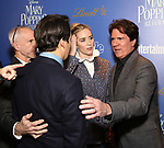 John Deluca, Emily Blunt, Lin-Manuel Miranda and Rob Marshall attends a screening of 'Mary Poppins Returns' hosted by The Cinema Society at SVA Theater on December 17, 2018 in New York City.