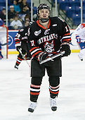 Steve Silva (Northeastern - 17) - The visiting Northeastern University Huskies defeated the University of Massachusetts-Lowell River Hawks 3-2 with 14 seconds remaining in overtime on Friday, February 11, 2011, at Tsongas Arena in Lowelll, Massachusetts.