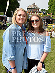 Sarah Haak and Fiona Hernon at Vantastival Festival. Photo:Colin Bell/pressphotos.ie