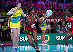 28/10/17 Fast5 2017<br /> Fast 5 Netball World Series<br /> Hisense Arena Melbourne<br /> Australia v Malawi<br /> Jane Chimaliro<br /> <br /> <br /> <br /> <br /> Photo: Grant Treeby