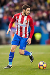 Stefan Savic of Atletico de Madrid in action during their La Liga 2016-17 match between Atletico de Madrid vs Real Betis Balompie at the Vicente Calderon Stadium on 14 January 2017 in Madrid, Spain. Photo by Diego Gonzalez Souto / Power Sport Images