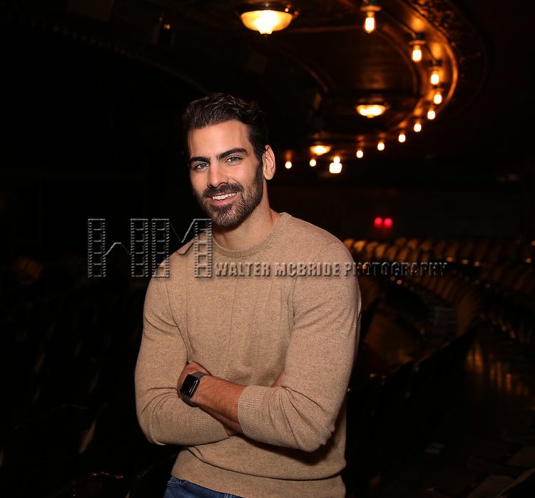 "Nyle DiMarco, making His Broadway Producing debut with Broadway's ""Children Of A Lesser God"" at Studio 54 on January 17, 2018 in New York City."