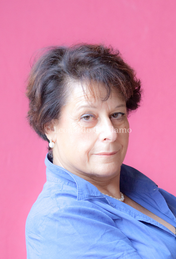Simonetta Agnello Hornby, italian writer. Mantova, 2011.  © Leonardo Cendamo